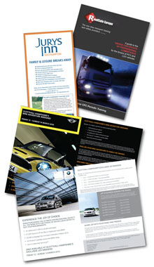 Brochure & Leaflet Design