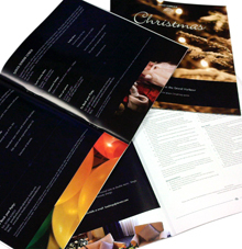 photo of De Vere Grand Harbour Hotel Christmas and New Year Brochure - Hampshire Press case study