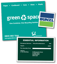 labels designed and printed by Hampshire Press